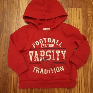 Children's Place Football Hooded Sweatshirt